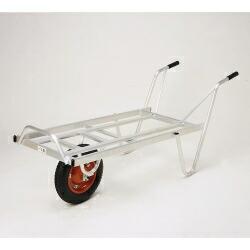 【法人限定】本宏製作所 アルミ製一輪車 リヤカーYTタイプ YT-2 【メーカー直送・代引不可】