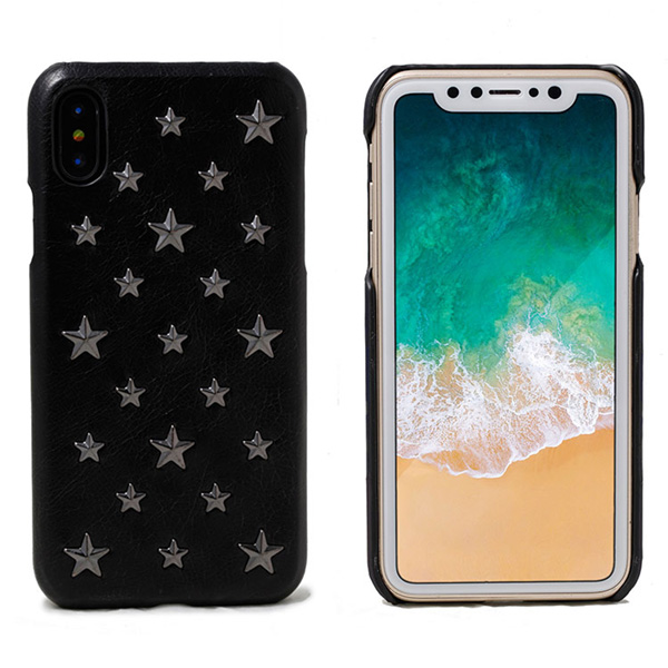 mononoff Star Studs single for iPhone XS Max(ブラック)