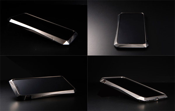 CLEAVE Titanium Bumper 180 for iPhone XS / X (チタニウムシルバー)