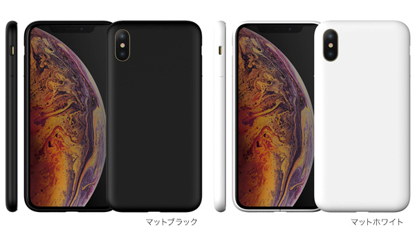 カラー MYNUS ケース for iPhone XS