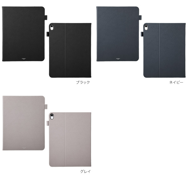 カラー GRAMAS COLORS EURO Passione Book PU Leather Case for iPad Pro 12.9インチ (2018)