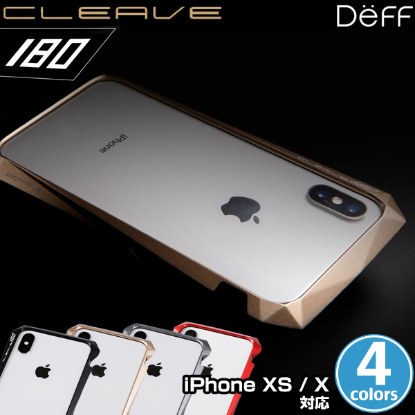 CLEAVE Aluminum Bumper 180 for iPhone XS/X