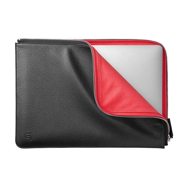 GRAMAS COLORS PU Leather Sleeve for MacBook Pro 13
