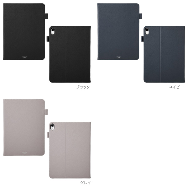 カラー GRAMAS COLORS EURO Passione Book PU Leather Case for iPad Pro 11インチ (2018)