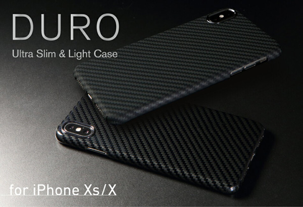 Ultra Slim & Light Case DURO for iPhone XS / X
