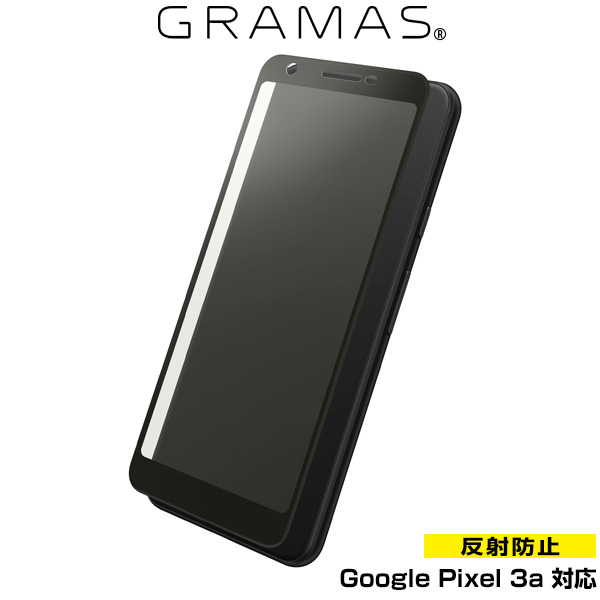GRAMAS Protection 3D Full Cover Glass Anti-Glare for Google Pixel 3a