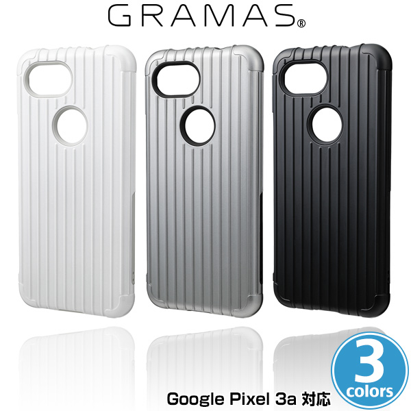 GRAMAS COLORS Rib Hybrid Shell Case for Google Pixel 3a