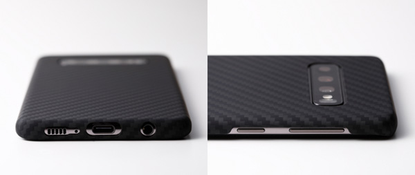 Ultra Slim & Light Case DURO for Galaxy S10 (マットブラック)