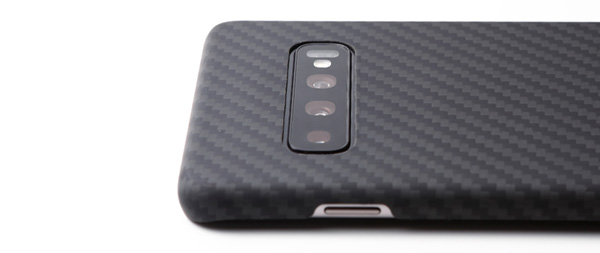 Ultra Slim & Light Case DURO for Galaxy S10+ (マットブラック)