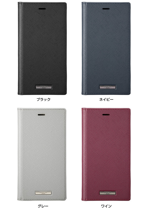 カラー GRAMAS EURO Passione PU Leather Book Case for iPhone 11