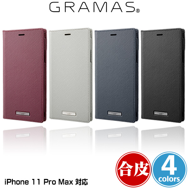 GRAMAS EURO Passione PU Leather Book Case for iPhone 11 Pro Max