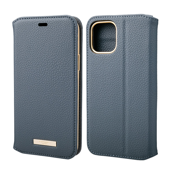 GRAMAS Shrink PU Leather Book Case for iPhone 11 Pro