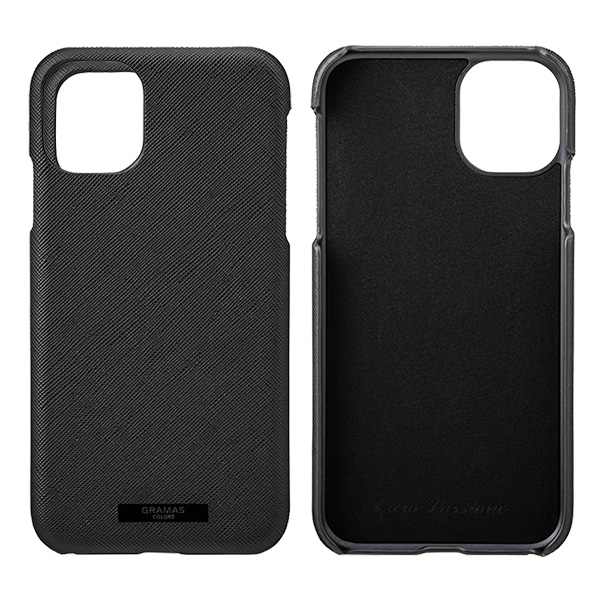 GRAMAS EURO Passione PU Leather Shell Case for iPhone 11
