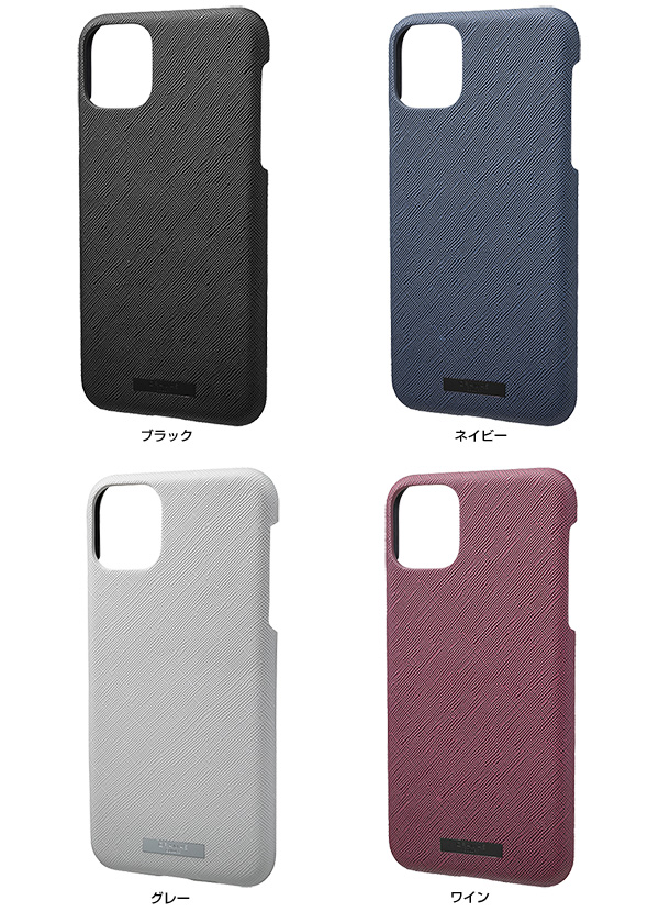 カラー GRAMAS EURO Passione PU Leather Shell Case for iPhone 11 Pro Max