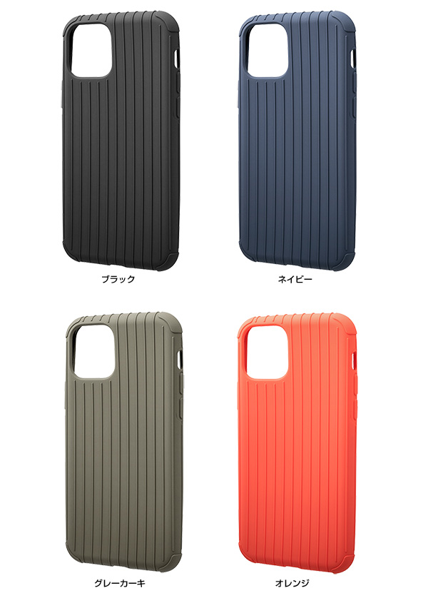 カラー GRAMAS Rib Light TPU Shell Case for iPhone 11 Pro