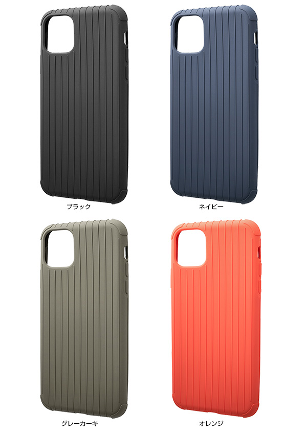 カラー GRAMAS Rib Light TPU Shell Case for iPhone 11 Pro Max