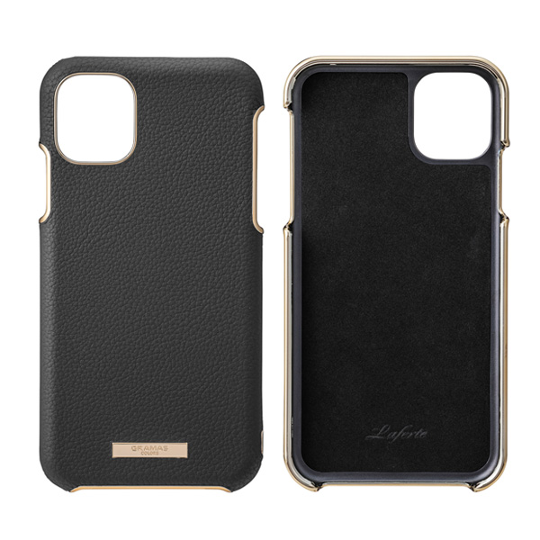 GRAMAS Shrink PU Leather Shell Case for iPhone 11 Pro