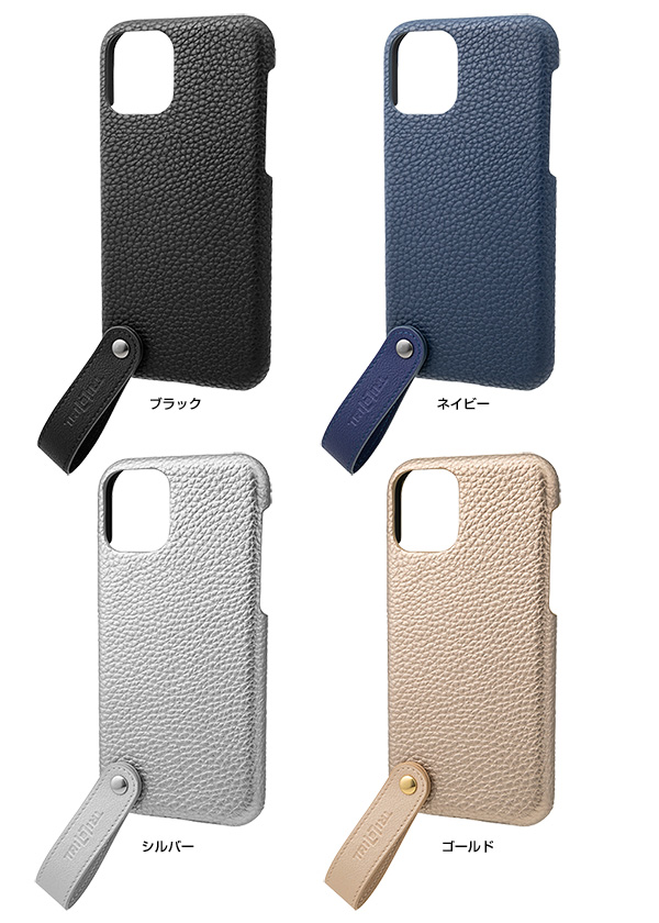 カラー GRAMAS TAIL PU Leather Shell Case for iPhone 11 Pro