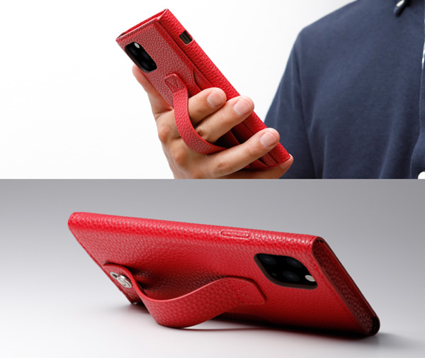 Clings Slim Hand Strap Case for iPhone 11