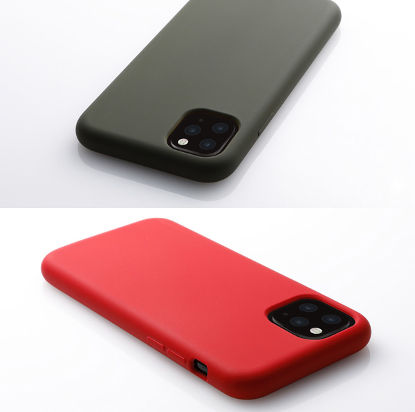 CRYTONE Hybrid Silicone Hard Case for iPhone 11