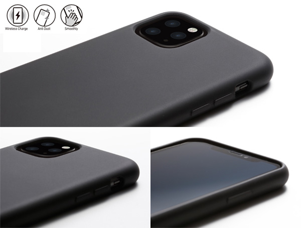 CRYTONE Hybrid Silicone Hard Case for iPhone 11 Pro Max