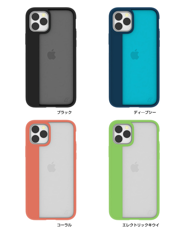 カラー ELEMENT CASE Illusion(M) for iPhone 11