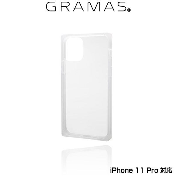 GRAMAS Glassty Glass Hybrid Shell Case for iPhone 11 Pro(クリア)