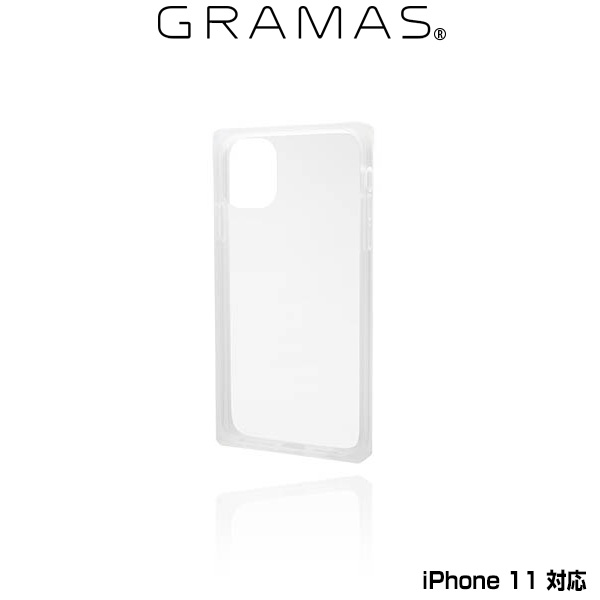 GRAMAS Glassty Glass Hybrid Shell Case for iPhone 11(クリア)