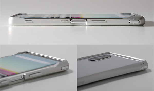CLEAVE Aluminum Bumper for Xperia 5 SO-01M SOV41