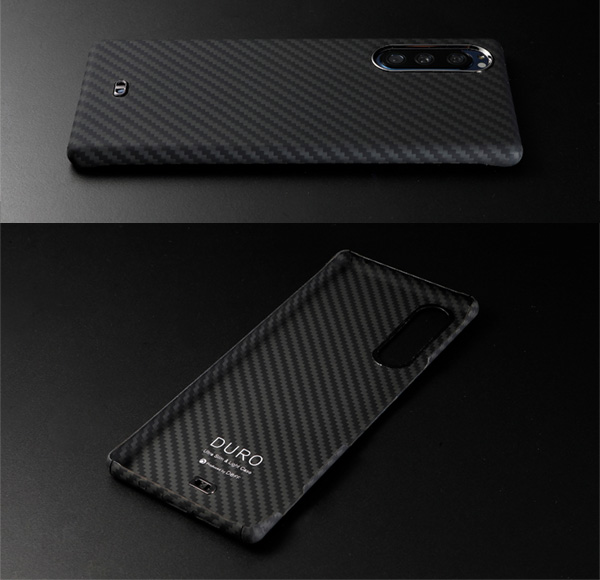 Ultra Slim & Light Case DURO for Xperia 5 SO-01M SOV41 (マットブラック)