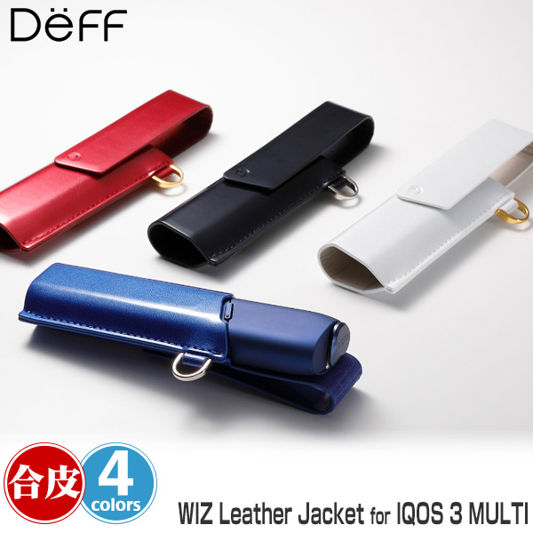 WIZ LEATHER JACKET for IQOS 3 MULTI
