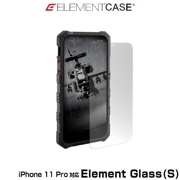 ELEMENT CASE Element Glass(S) for iPhone 11 Pro(クリア)