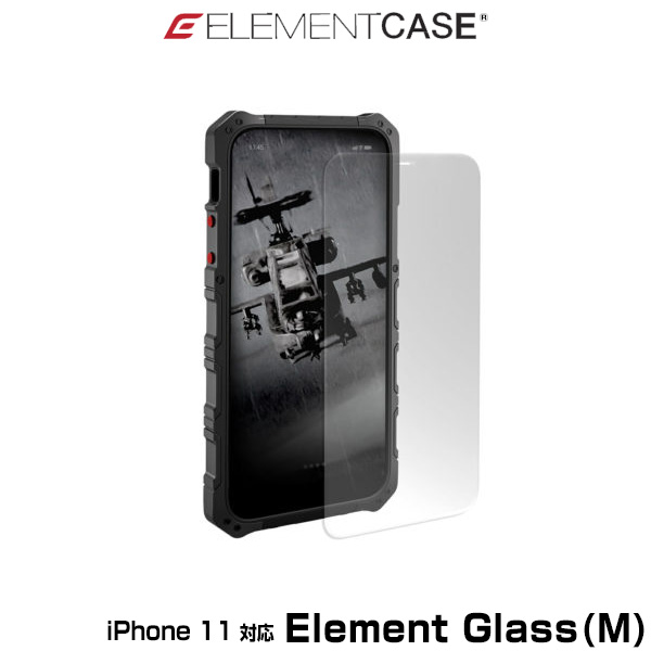 ELEMENT CASE Element Glass(M) for iPhone 11(クリア)