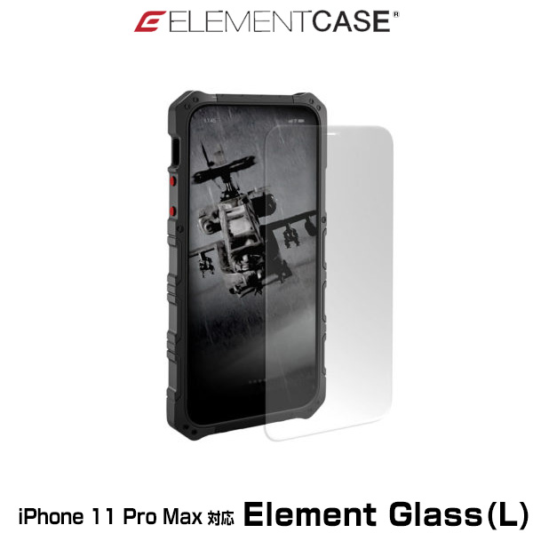 ELEMENT CASE Element Glass(L) for iPhone 11 Pro Max(クリア)