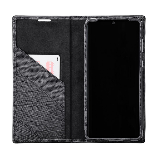 GRAMAS COLORS EURO Passione PU Leather Book Case for AQUOS zero2