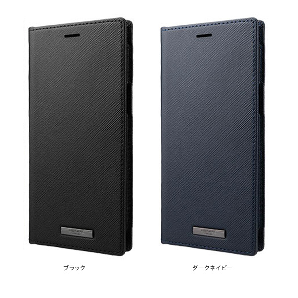 カラー GRAMAS COLORS EURO Passione PU Leather Book Casee for iPhone 12 Pro Max