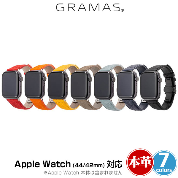 GRAMAS German Shrunken-calf Watchband for Apple Watch(44mm 42mm)