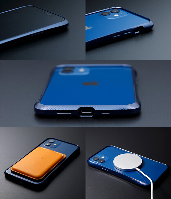 CLEAVE Aluminum Bumper for iPhone12 12 Pro