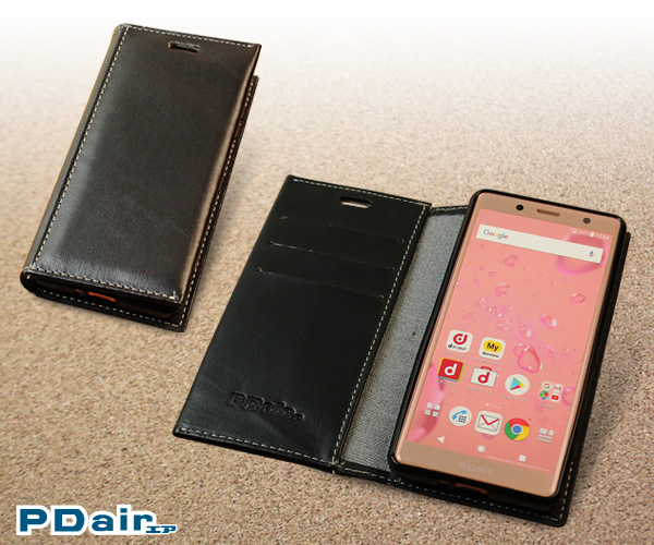 PDAIR レザーケース for Xperia XZ2 Compact SO-05K 横開きタイプ